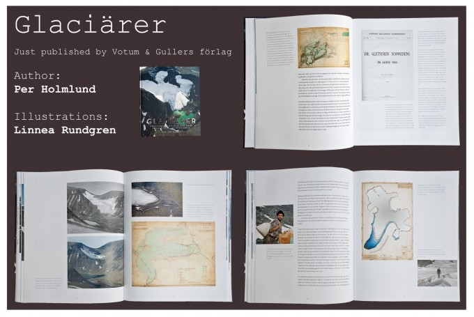 Freshly published book about Glaciers with illustrations by Linear Photography
