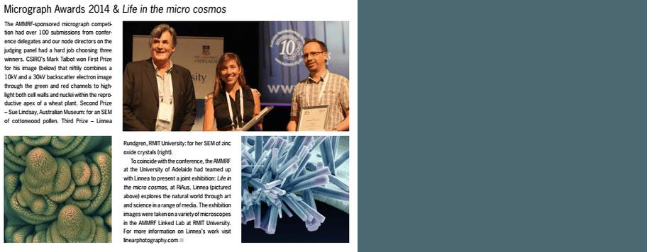 AMMS Micrograph Awards 2014